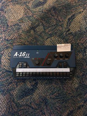 Avionics A-16 ll personal mixer pro audio recording BCP000705 for Sale in Huntington Beach, CA