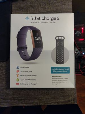 Fitbit Charge 3 for Sale in Diamond Bar, CA