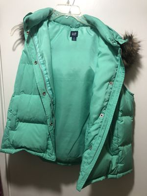 XL Mint GAP puffy vest for Sale in Lynnwood, WA