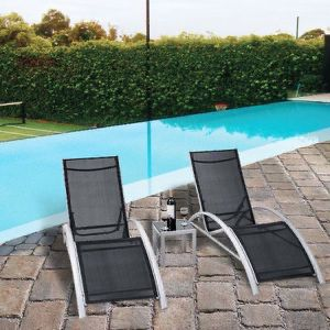 Brand New 3 Pcs. Outdoor Patio Pool Lounger Set for Sale in Beverly Hills, CA