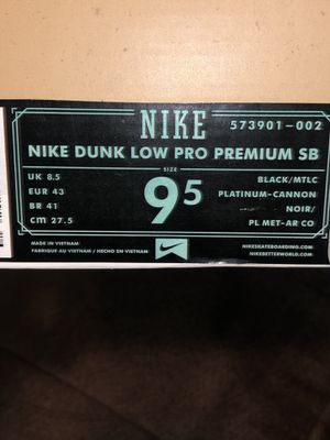 Nike SB (lance mountain) 20th anniversary Tampa skate park for Sale in Takoma Park, MD