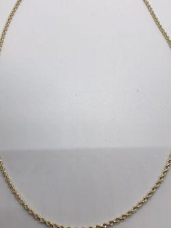 """Rope Chain 24"""" Gold 14kt for Sale in Di Giorgio,  CA"""