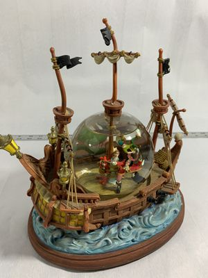 Disney snow globe (you can fly) Peter Pan and Captain Hook for Sale in Bothell, WA