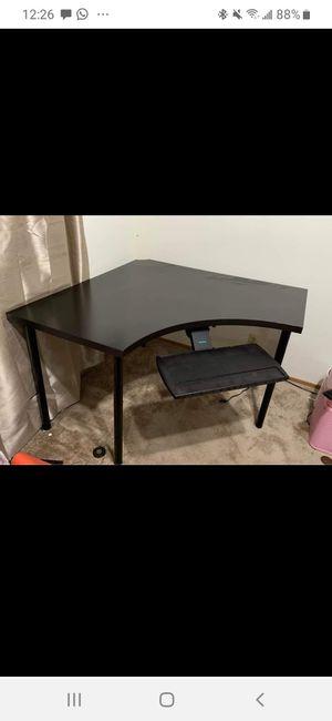 IKEA corner desk (keyboard shelf can be removed) for Sale in Belmont, CA