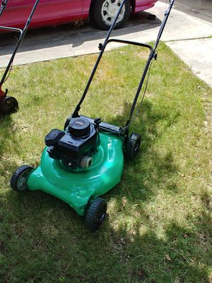 Green hulk lawn mower this takes the bag for Sale in San Antonio, TX