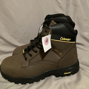 Coleman Steel Toe Work Boot Size 12 for Sale in Las Vegas, NV