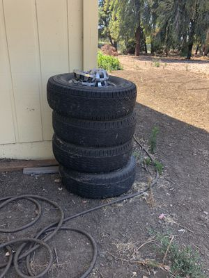 Chevy hd rims and tires 2500 hd for Sale in Gilroy, CA