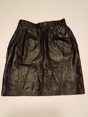 black leather skirt for Sale in San Bernardino, CA