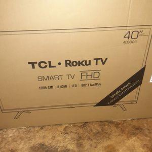 "TCL 40"" Smart Roku TV for Sale in Philadelphia, PA"