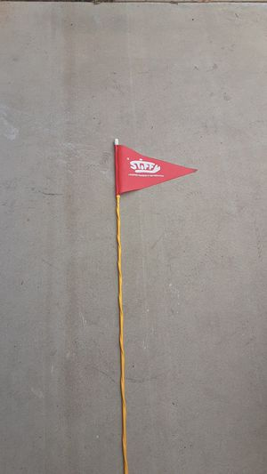 7 foot safety flag for Sale in Corona, CA