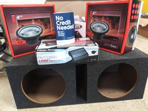 12 Inch Audio Package for Sale in Fayetteville, GA