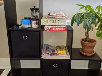 Cube Organizer Shelves w/ Removable Basket Drawers for Sale in Arlington,  VA