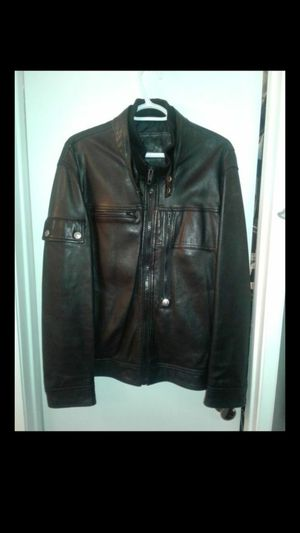 Leather jacket good condition and good quality. Size XXL but fit XL for Sale in Miami, FL