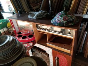 Koronette mid century German stereo fireplace man cave system for Sale in Raleigh, NC