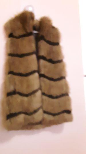 100% Faux Fur hook vest for Sale in Butte, MT