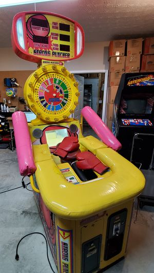 Strong Puncher Arcade Redemption Game for Sale in Dallas, GA