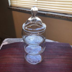 Princess House Handblown Heritage Handcut Stacking Bowl Set 443 - 4 for Sale in Clearwater, FL
