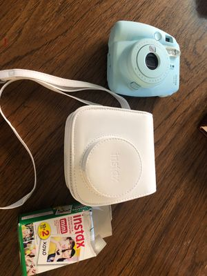 Instax mini 9 w case and film for Sale in St. Louis, MO