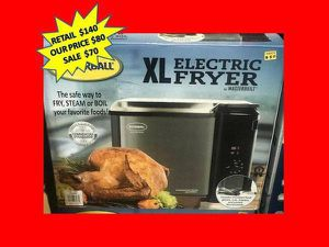 Butterball Electric Fryer XL (XL, Steel) BRAND NEW for Sale in Fort Lauderdale, FL