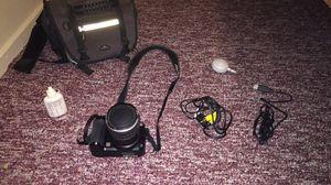 Black camera with accessories/camera bag for Sale in Chico, CA