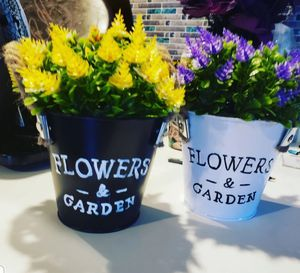 Mini Potted Planters W/Fake Flowers for Sale in Dillsburg, PA