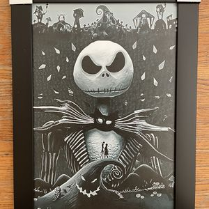 Nightmare Before Christmas Wall Decor for Sale in Oxnard, CA