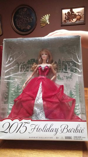 2015 Holiday Barbie for Sale in Pataskala, OH
