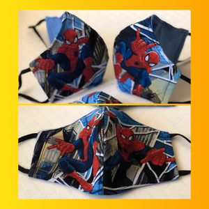 Spider-Man 🕷 Spiderman Cloth Face Mask for Kids for Sale in Grand Prairie, TX