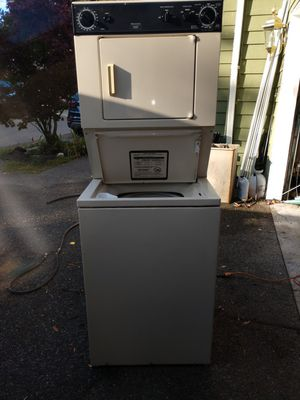 Kenmore washer and dryer stack. $300. for Sale in Maple Valley, WA