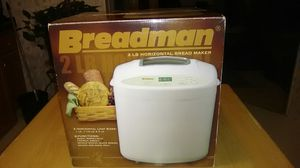 Breadman 2lb. Bread maker for Sale in Elmendorf, TX