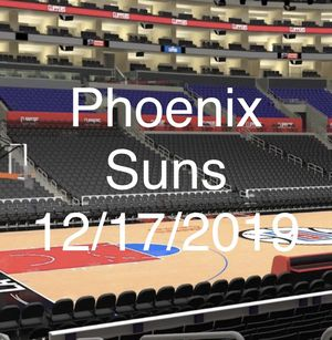 Phoenix Suns VS LA CLIPPERS CLUB SEATS ROW 10 - 2 TICKETS for Sale in Los Angeles, CA