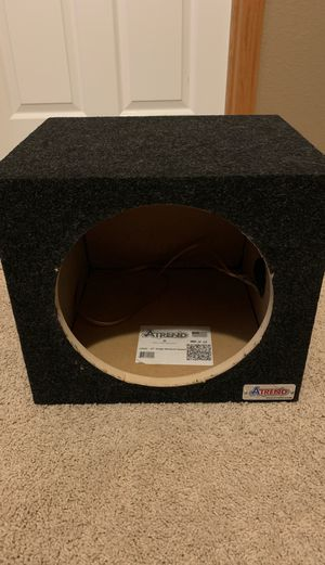Atrend 12 inch sub box for Sale in Saint Paul, MN
