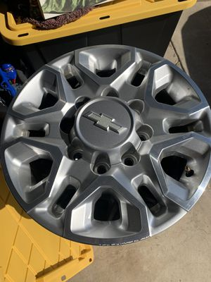 18 inch Chevy Rims and tires $500 for Sale in Galt, CA
