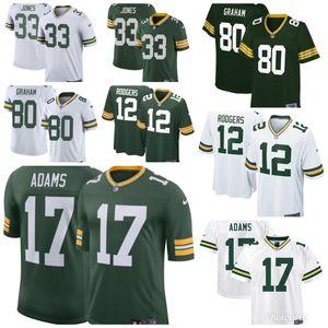 Packers Green Bay Jerseys Adams Rodgers Jones Men Size S M L Xl Xx Xxx for Sale in Downey, CA