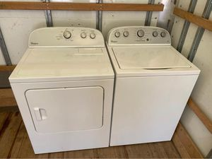 New Whirlpool Heavy Duty Super Capacity Washer & Dryer Set Cost $1,200 for Sale in Strongsville, OH