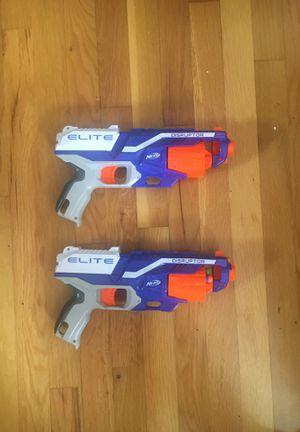 Two nerf disruptor elite guns for Sale in Hampton Township, PA