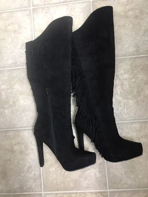 High Heel Fringe Boots for Sale in Fresno, CA