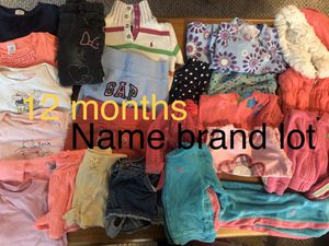 Toddler baby girl clothes - 12 mos - name brand lot for Sale in South Windsor, CT