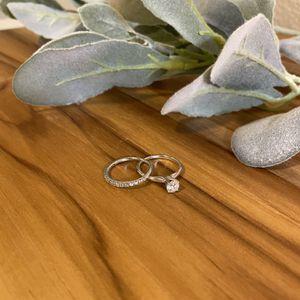 Half Carot White Gold Wedding Set for Sale in Federal Way, WA