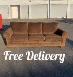 Microfiber Sofa 🚛💨 Free Delivery 🚛💨 for Sale in Henderson,  NV