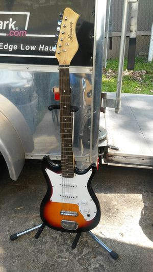 Brown and white Harmony Guitar for Sale in Kansas City, KS