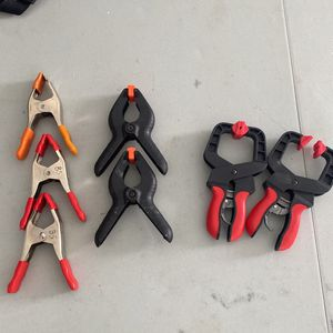 Set Of 7 Various Type Clamps for Sale in Fort Lauderdale, FL