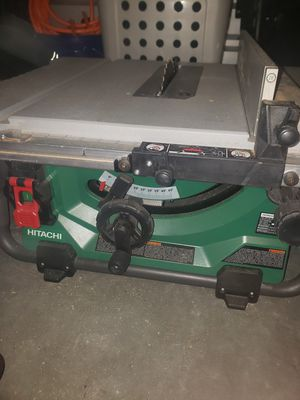 Hitachi like new table saw for Sale in Lodi, CA
