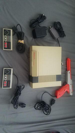 Original NES, games and Duck Hunt gun for Sale in Santa Monica, CA