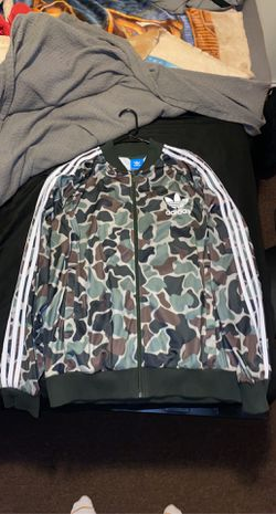 Adidas Camo Jacket 2XL for Sale in East Peoria,  IL