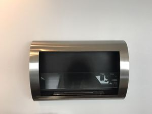 Stainless steel ventless fireplace for Sale in Pittsburgh, PA