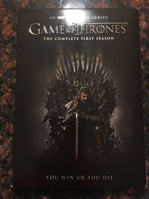 """HBO original series """" Game of Thrones"""" complete first season. Included 5 discs. for Sale in Rockville, MD"""