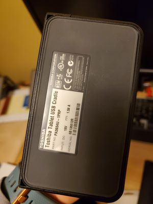 Toshiba tablet docking station for Sale in Dearborn Heights, MI