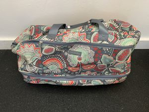 Vera Bradley rolling duffle bag and matching backpack. for Sale in Oakland, CA