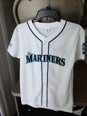 BRAND NEW MLB Seattle Mariners Edgar Martinez Baseball Jersey (Size: Youth Large pictured, Adult Medium posted separately) for Sale in Lynnwood, WA